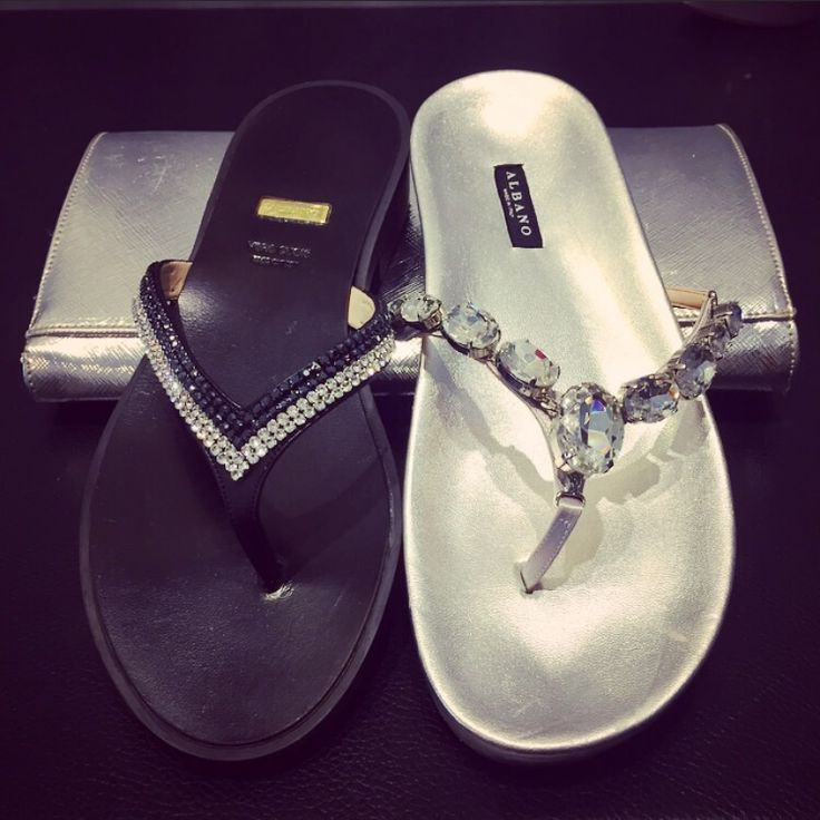 Elegance Albano's shoes and Bags in silver and black with Swarovski. Visit our Facebook page and discover all Collection