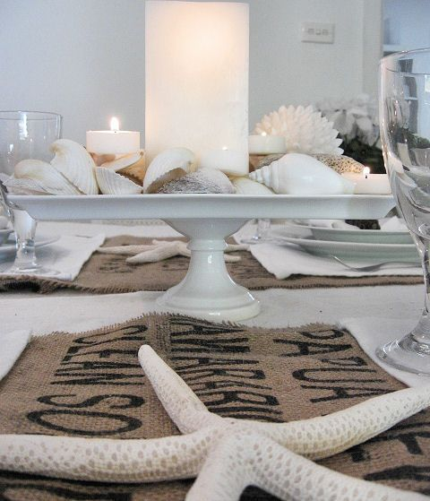 Beach Cottage Decorating Ideas | Furniture meets Beach Cottage Hessian Decorating Ideas - Beach Decor ...