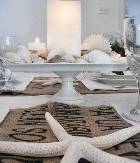 Beach Cottage Decorating Ideas | Furniture meets Beach Cottage Hessian Decorating Ideas - Beach Decor ...