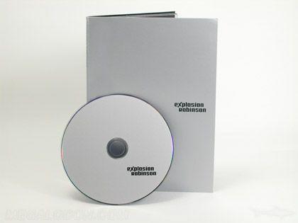 metallic silver ink printing on dvd packaging