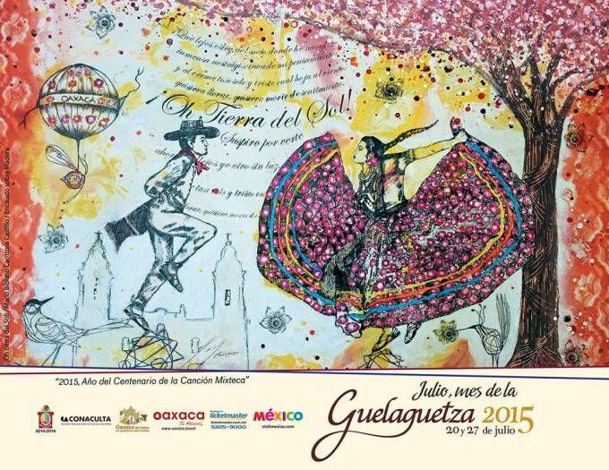 Guelaguetza 2015. 20 y 27 de julio de 2015 en el Auditorio Guelaguetza de Oaxaca, Oaxaca.