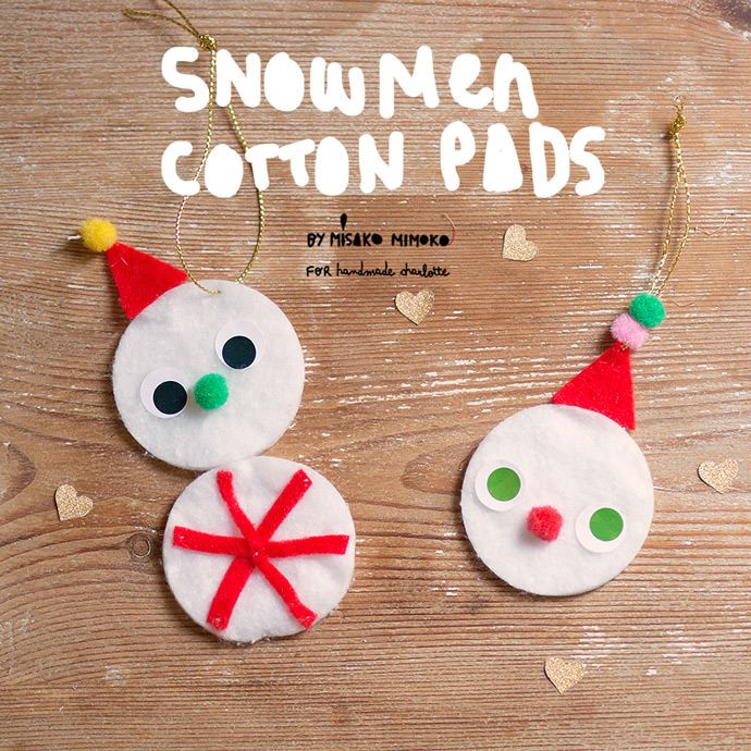 The sweetest little snowman ornaments you ever did see! This DIY is super economical and is lots of fun.