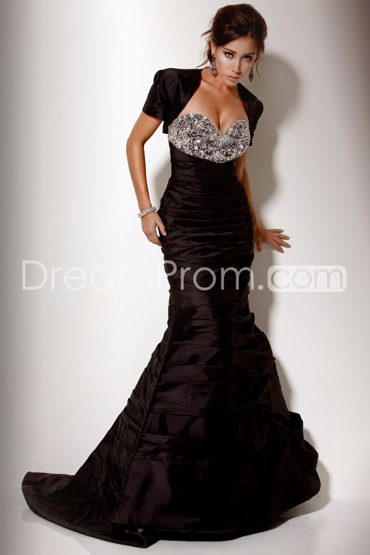 Floor Length Mermaid Cathedral Train Evening/Prom Dress
