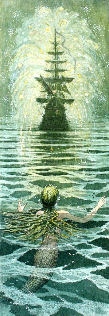 Boris Diodorov   The Little Mermaid (Hans Christian Andersen) 9 | Flickr   Photo Sharing!
