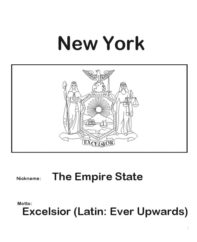 new york state flag history