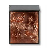 Greg Hentzi Designs: Locking Copper Wall Mount Mailbox - Cardinal by General Electric. $128.99