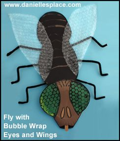 Fly with Compound Eyes Educational Craft for Children From www.daniellesplace.com