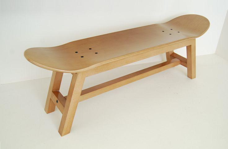 Skater Home Bedroom Stool Desk New Furniture Good For