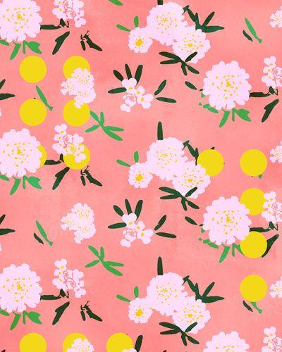 Motif Chrysanthèmes