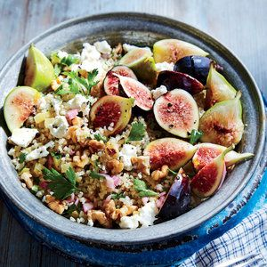 Bulgur Salad with Figs and Preserved Lemon | MyRecipes.com