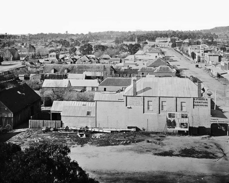 Beechworth as it looked in Neds day.