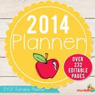 EYLF 2014 Planner is EDITABLE and a fantastic way to get you started with your EYLF Documentation. It is over 232 pages too! Each section is editab...