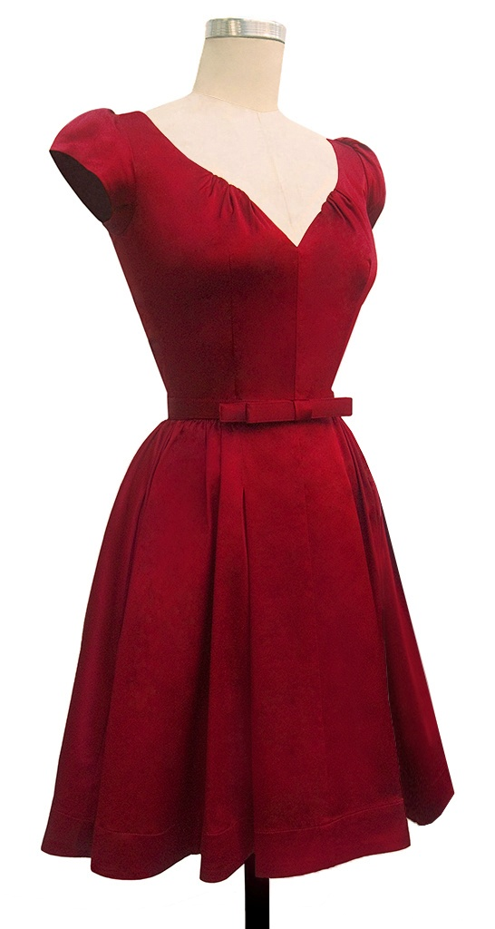 Trashy Diva Liz Dress | Retro Dress | Red | Trashy Diva