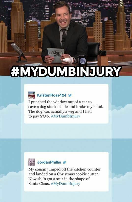 dumb injury clean funny