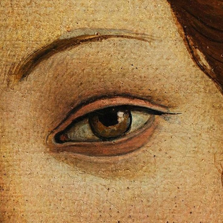 """Detail from Botticelli's """"The Birth of Venus"""""""