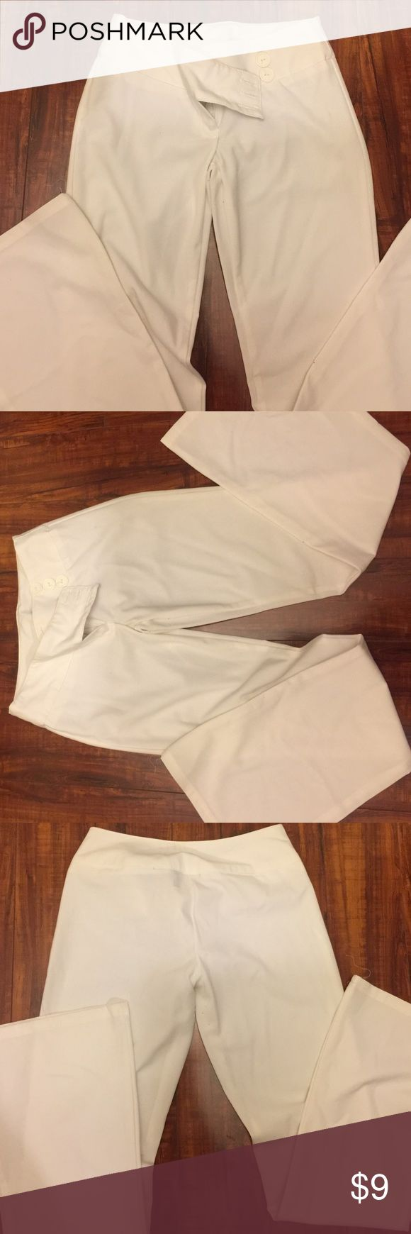 Stylish & flattering fit dress pants Super cute, they fit great! Stretchy material Rave Pants Trousers