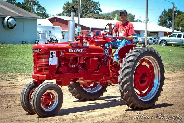 Farmall H.  We used one on the Smith farm near Juda, WI