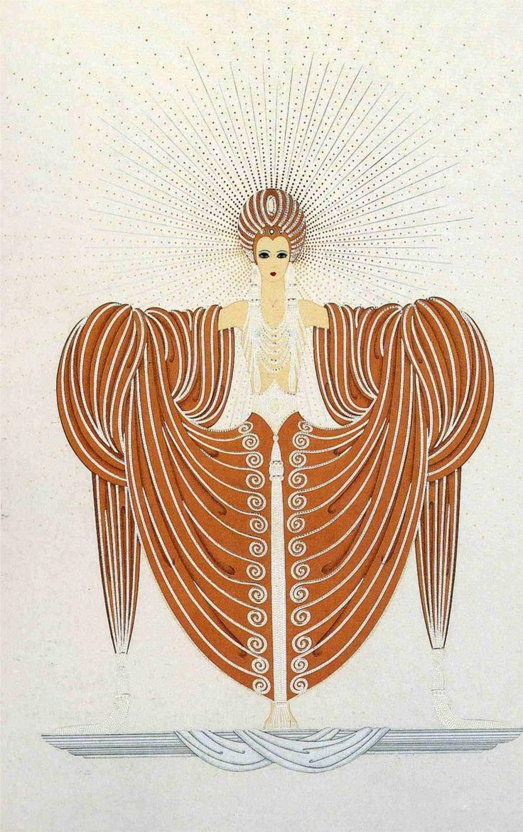17 best images about erte on pinterest french fashion for Art deco illustration