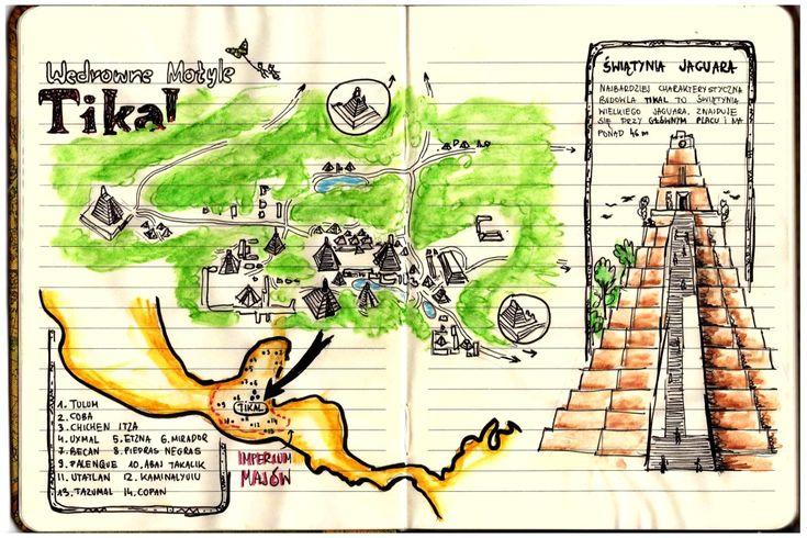 #Tikal w Gwatemali. Miasto Majów w całej krasie. Zdjęcia i Wideo http://gdziewyjechac.pl/27525/ #Map #drawingmap