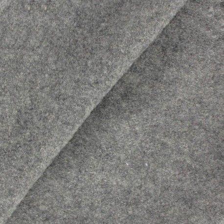 Laine bouillie gris chiné x 10cm