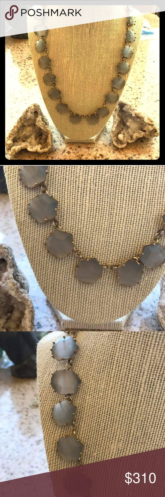 Kendra Scott Slate Sam Necklace Excellent condition Karen Scott Jewelry Necklaces