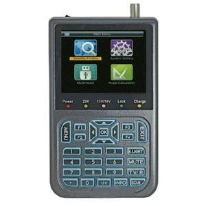 mesureur de champ satellite hd - écran lcd