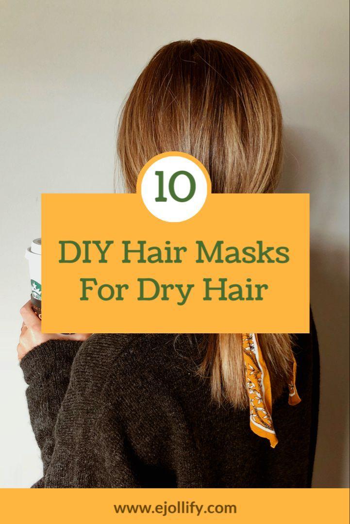 Hair Mask For Damaged Hair Diy Panosundaki Pin
