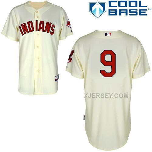 http://www.xjersey.com/indians-9-raburn-cream-cool-base-jerseys.html INDIANS 9 RABURN CREAM COOL BASE JERSEYS Only $43.00 , Free Shipping!