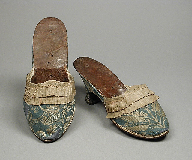 Woman's mules, 1770-1780, Germany or Italy