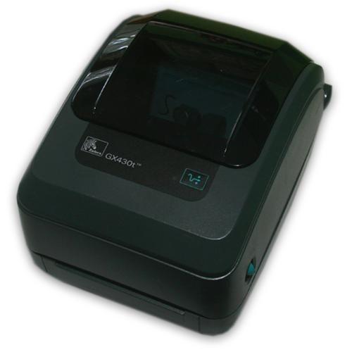 Zebra GX430T Thermal Barcode Shipping Label Printer Ethernet GX43-102410-000