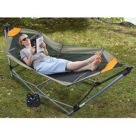 Portable Folding Hammock, (portable Hammock, Hammock, Hammocks, Camping  Equipment, Hiking, Durable, Camping Hammock, Hammock Stands, Patio  Furniture, ...