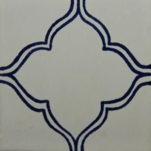 Old Danish Style Hand Painted Tile OD 33 | Mexican Art Tile