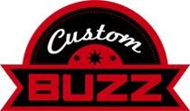 Custom Buzz brand identity logo