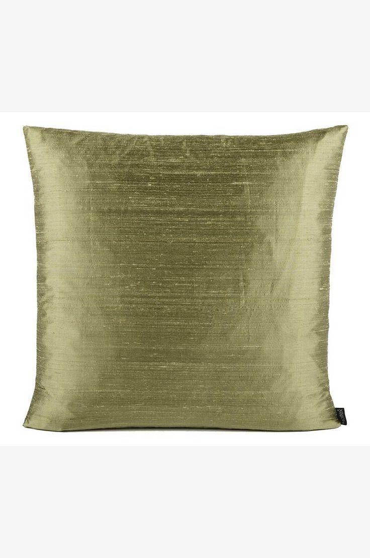 Moltex Pute Dupion Silk 50x50 cm - Grønn - Hjem & innredning - Ellos.no