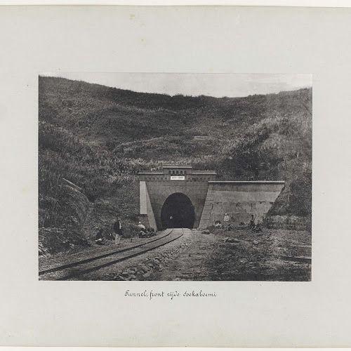 Tunnel, frontzijde Soekaboemi, anonymous, 1880 - 1888 - Rijksmuseum