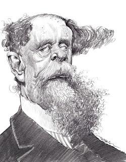 Artist:Jan Op De Beeck Caricature:Charles Dickens