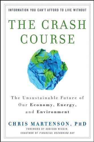 The Crash Course: The Unsustainable Future Of Our Economy, Energy, And Environment by Chris Martenson, http://www.amazon.com/dp/B004OC01B8/ref=cm_sw_r_pi_dpp_63HQsb0Q7HARX