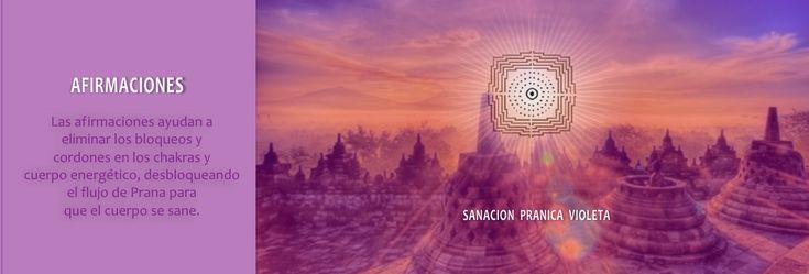 Afirmaciones de Sanacion Pranica Violeta