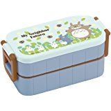 My Neighbor Totoro,Thermal Bento Lunch box,2-container 600ml,Both container 300ml,Blue Sky Disign by Skater