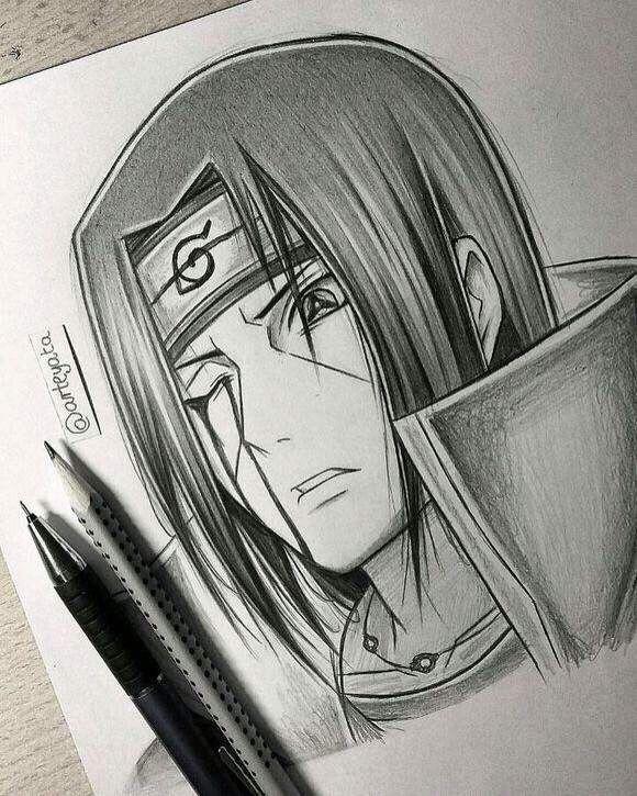 Itachi Hand Drawing By Arteyata Minato Naruto Cosplay Anime Cosplayclass Naruto Sketch Naruto Drawings Itachi Uchiha Art