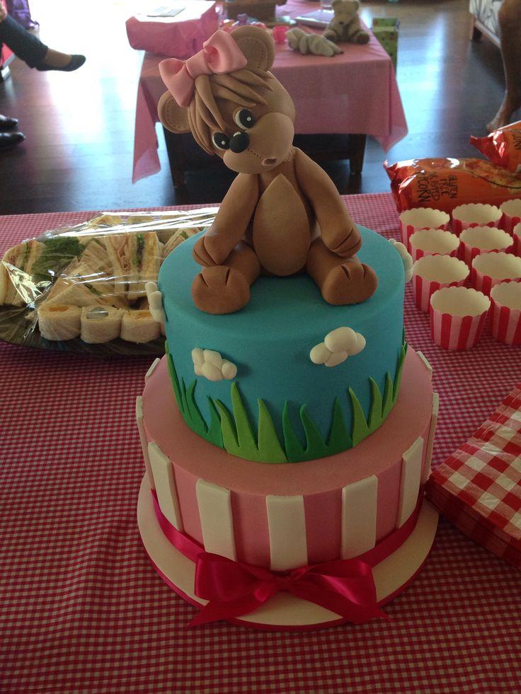 Teddy Bears Birthday Cake