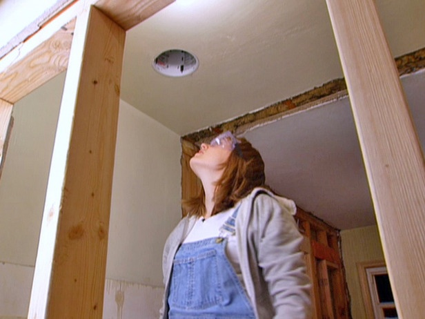 Install a recessed canister ceiling light how to diy network