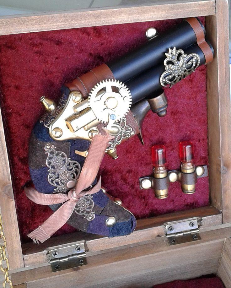 derringer with love potion bullets.  Made by Gide-sign artworks