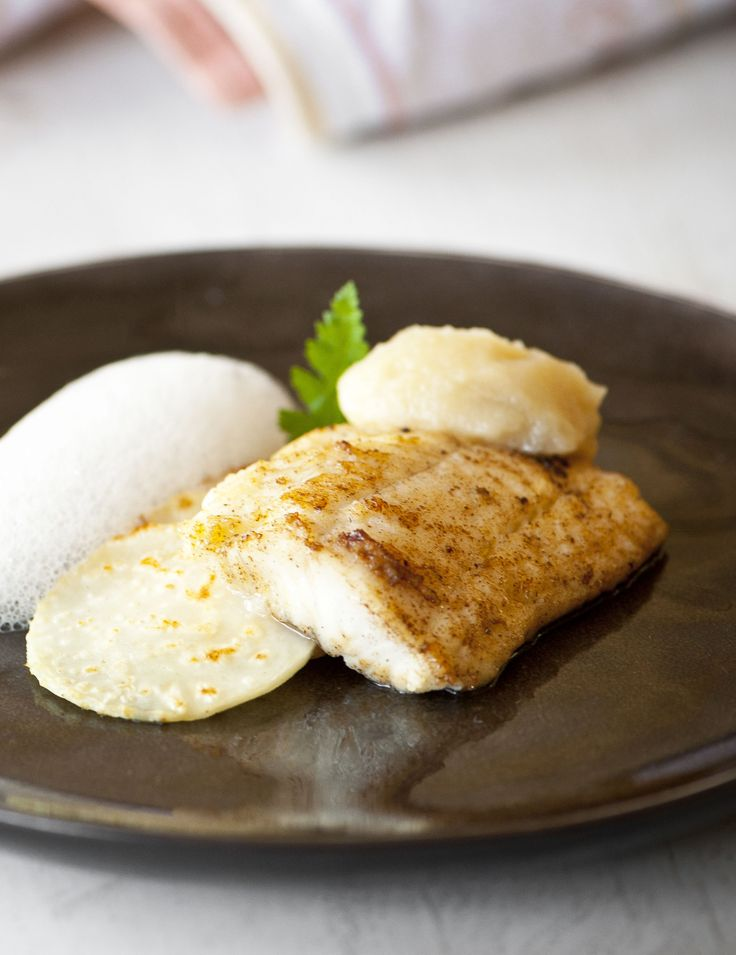 Crispy Cod Cooked 'Unilaterally' With Creamed Leeks Recipe ...
