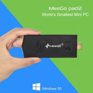 T9: Le finestre autorizzate preinstallate 10 meegopad t02 il quadrangolo di PC mini z3735f 1.33ghz principale 2 gb sbattono 32 gb rom hdmi