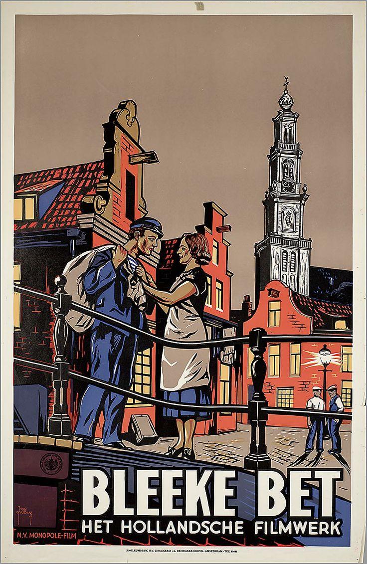 Bleeke Bet 1934:Oude Hollandse reclameposters