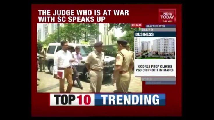 Calcutta High Court Judge Justice CS Karnan Refuses Medical Test By Supreme Court: Calcutta High Court Judge Justice CS Karnan Refuses…