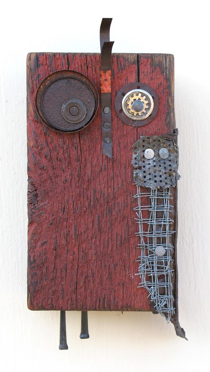 Zen-Industrial: Sculpture for Wildlife and Humans. Functional goods too!