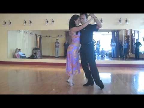 Change of Direction Tango Lesson Step