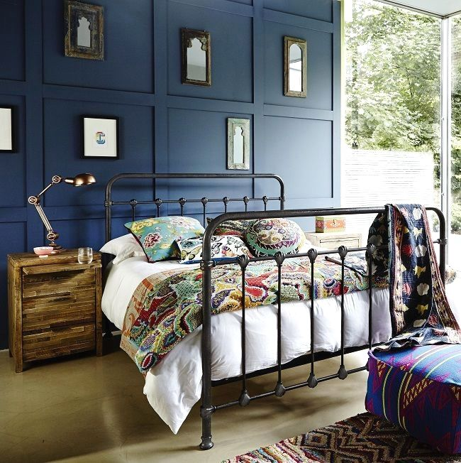 See Ideas For Bold Industrial Bedroom Furniture Including A Black